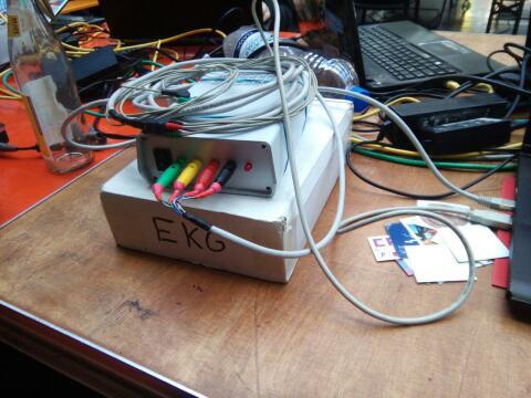 Ein Foto der verwendeten Hardware