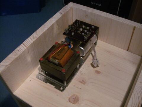 Der gekaufte Trafo aus einem alten Röhrenradio